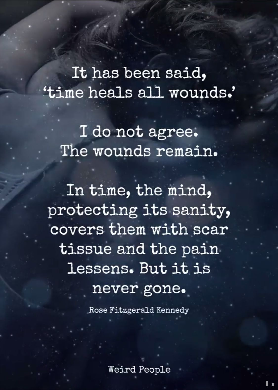 Quote About Time Healing Wounds
