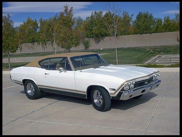 1968 Chevrolet Chevelle 460 500 Hp Automatic Mecum Anaheim Chevrolet Chevelle Chevelle Vintage Muscle Cars