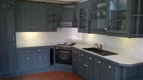Voici une cuisine relookée avant après Une Métamorphose radicale ...