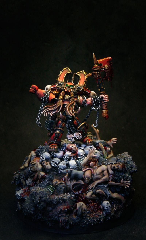 Chaos Kharn Khorn Warhammer 40 000 World Eaters Kharn The Betrayer Pro Picture Gallery Warhammer Warhammer Art Warhammer 40k Miniatures