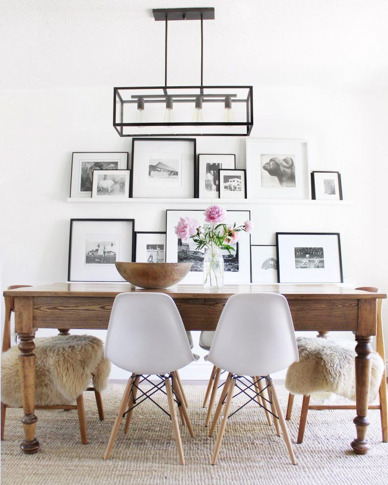 11 Easy Ways To Put Together A Gallery Wall #diningroom