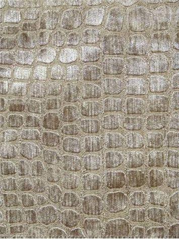 Hook Bronze Alligator Skin Pattern Chenille Jacquard For
