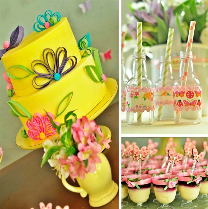 Butterfly Garden Birthday Party Planning Ideas Supplies Decorations