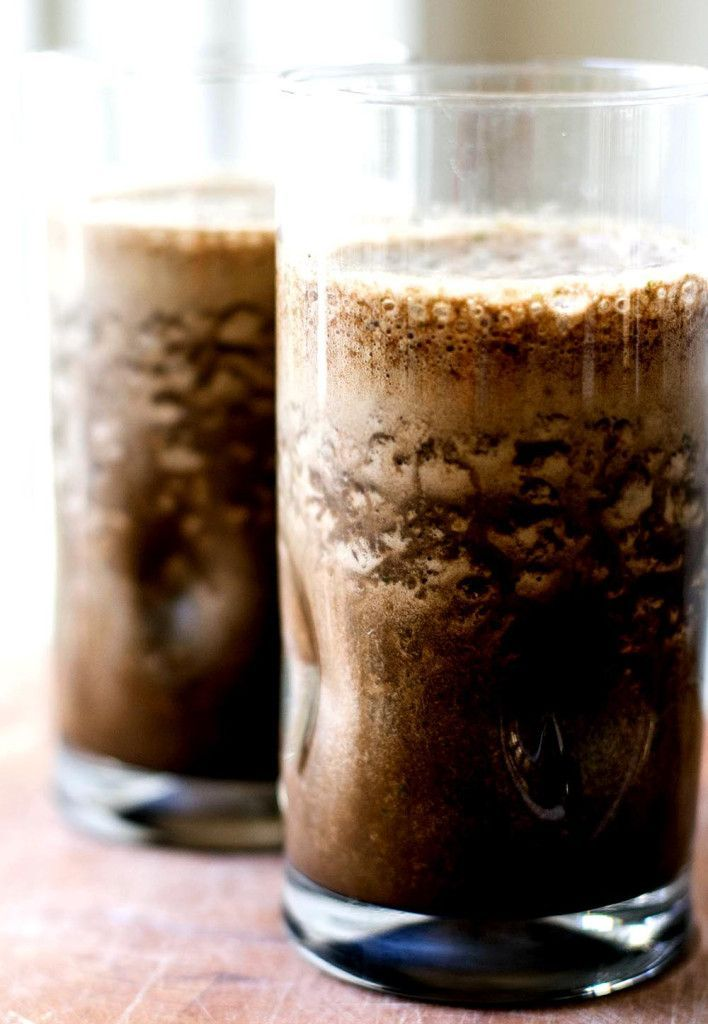 Mocha Smoothie | Girl Gone Gourmet