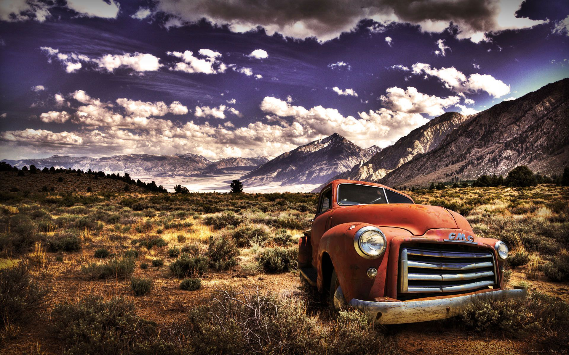 old truck hd widescreen | Wall Space | Pinterest | Cars, Gmc ...