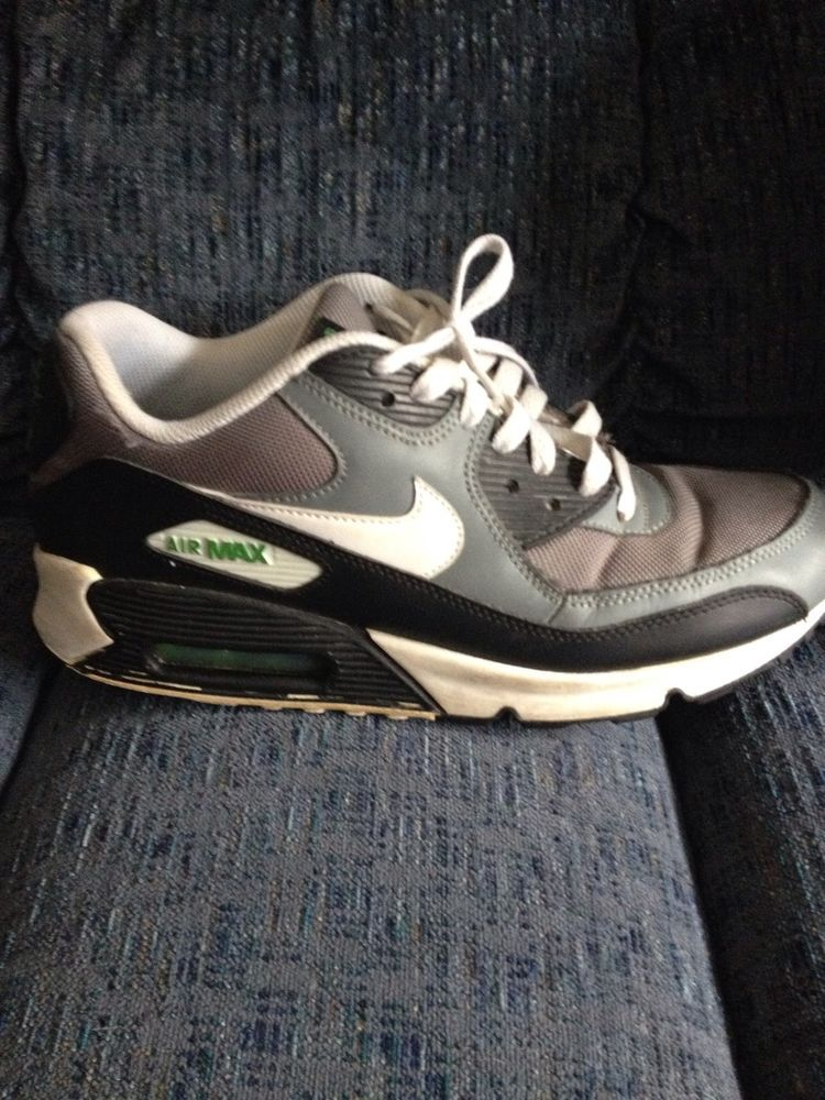 New Nike Air Max 90 Essential J1285018 Black//White//Cool Grey//Anthracite Shoes c1