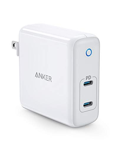 Anker 60W 2Port USB C Charger PowerPort Atom PD 2 GAN Tech Compact Foldable Wall Charg