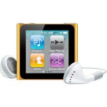 iPod nano for Boston--has to be ORANGE!