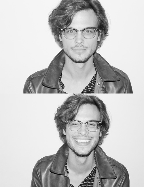 If anyone needs an idea for a birthday present I would like Matthew Gray Gubler. Please and thank you.