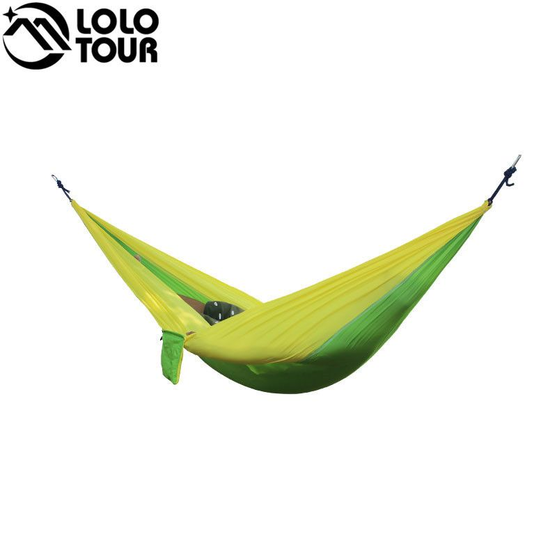 outdoor double hammock portable parachute cloth 2 person hamaca hamak rede garden hanging chair sleeping travel outdoor double hammock portable parachute cloth 2 person hamaca      rh   pinterest
