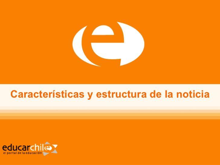 Estructura De La Nota Periodística Tipoloxías Textuais E