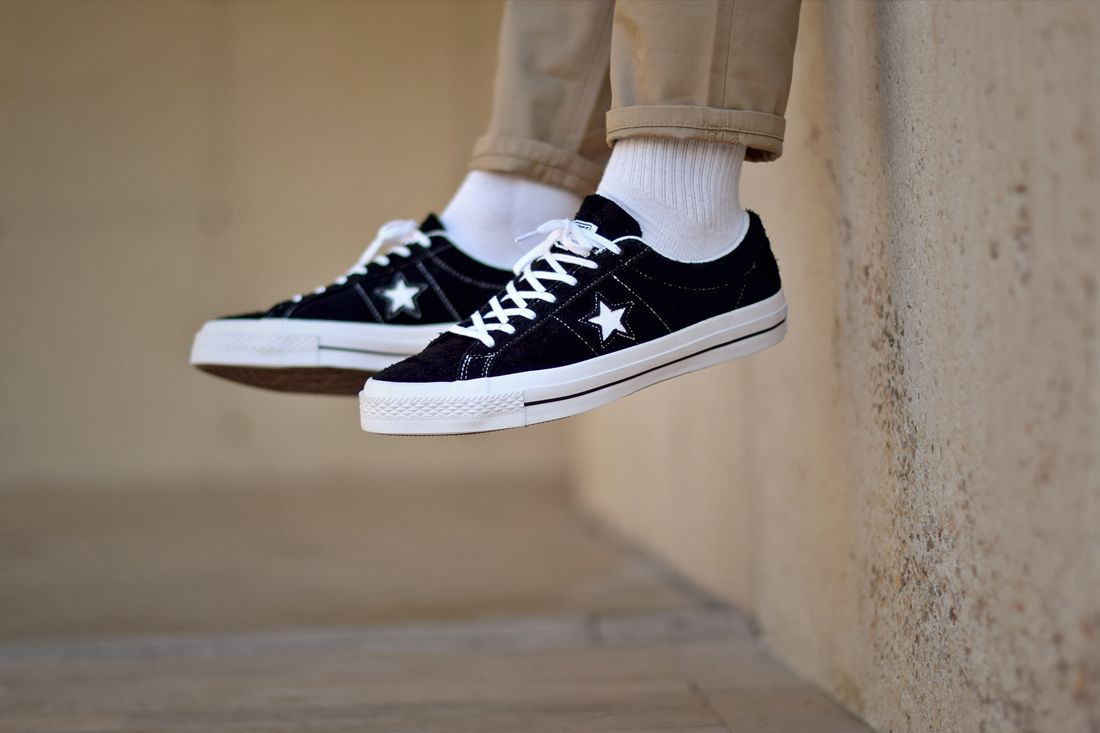 converse one star with lunarlon