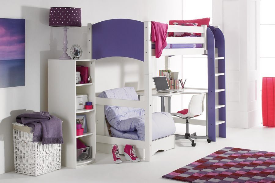 Scallywag High Sleeper With Chair Bed And Desk Desks Room Ideas - Scallywags bedroom furniture
