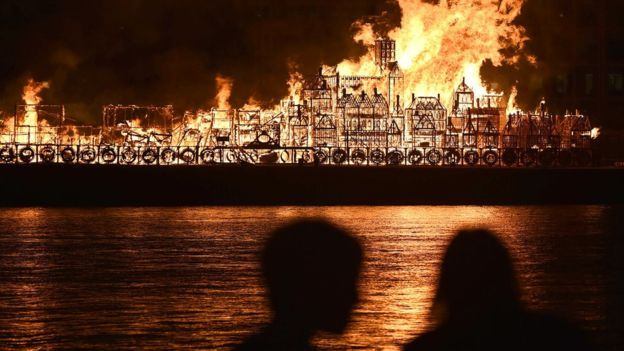 London Alight For Great Fire Retelling The Great Fire Great