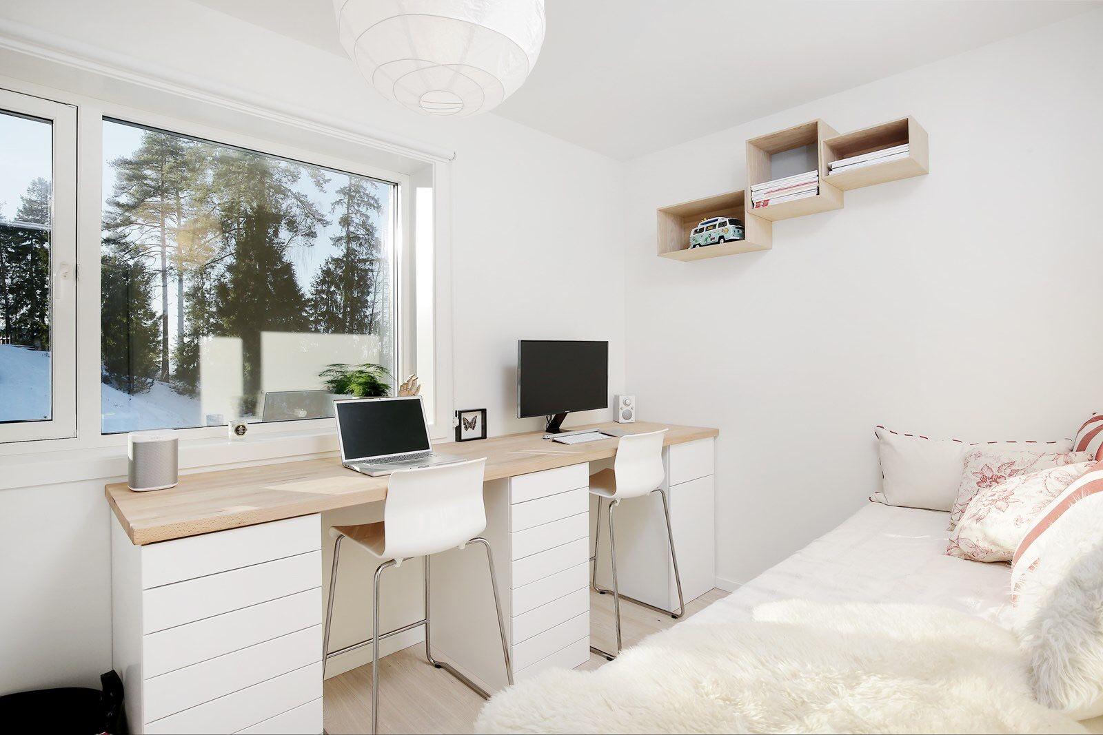ikea office space. IKEA Hack: Desktop With Plenty Of Space By HUSKVERNA.com Ikea Office F