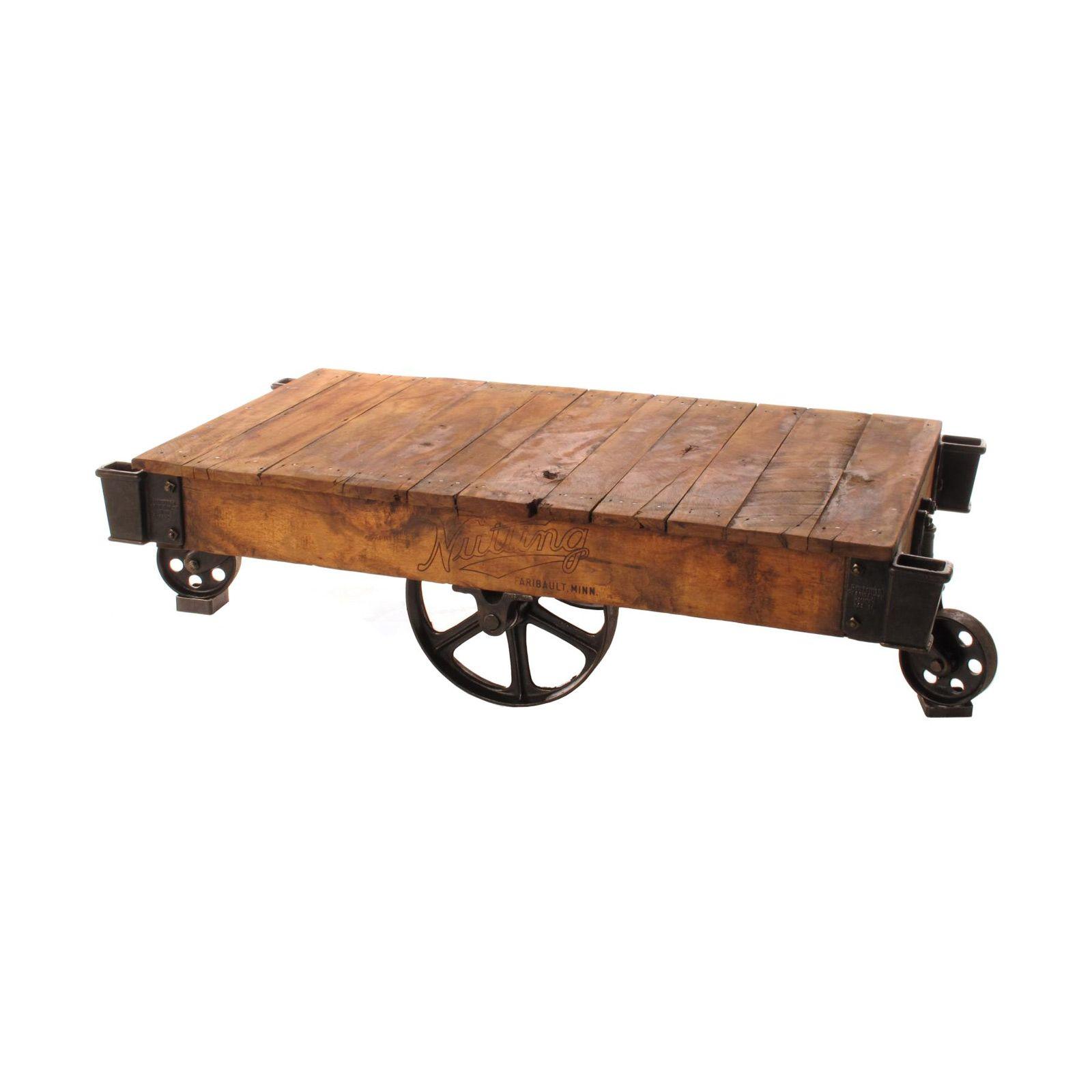 Railway Cart Coffee Table