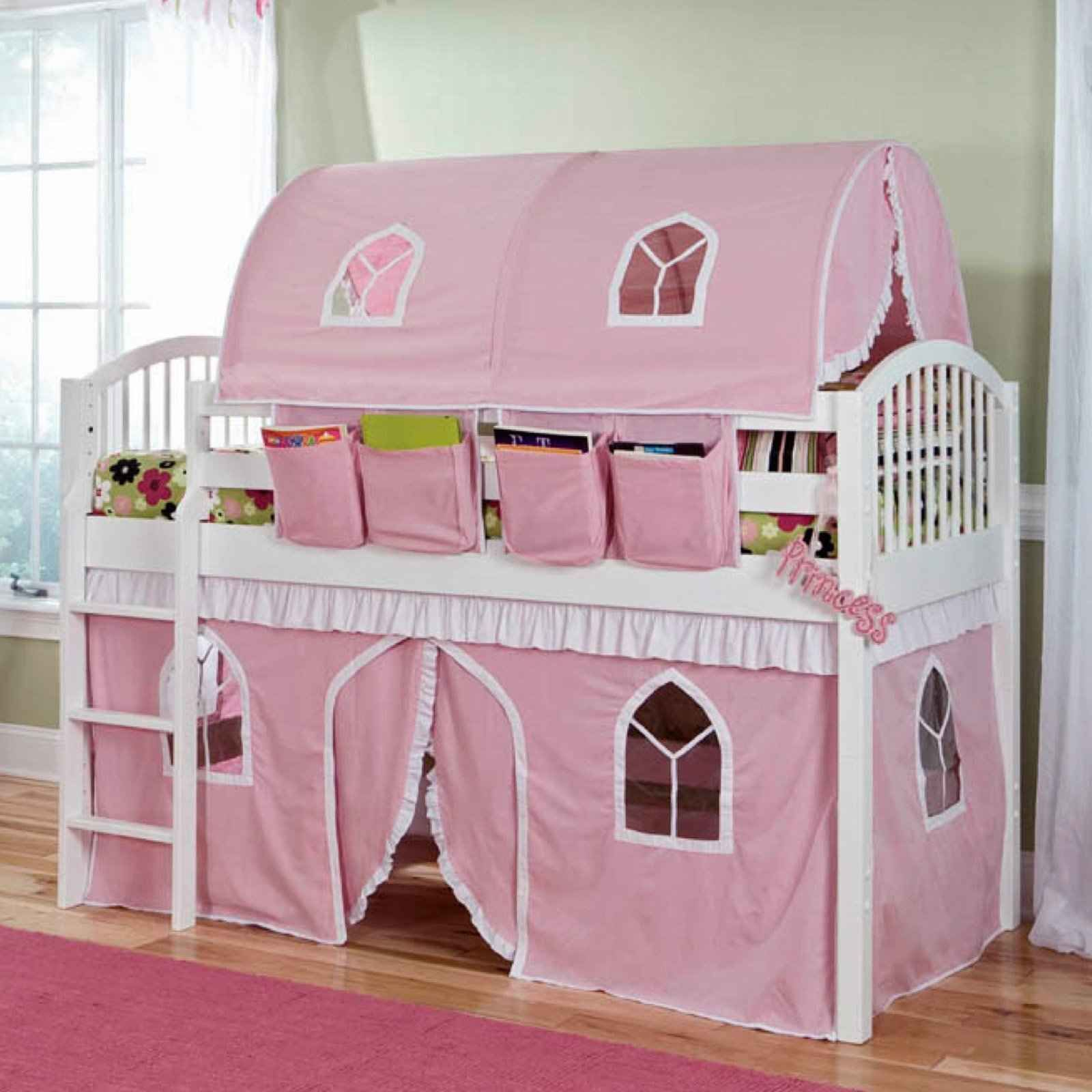Girls Castle Tent Canopy Beds Wouldn T Take Up The Whole Room