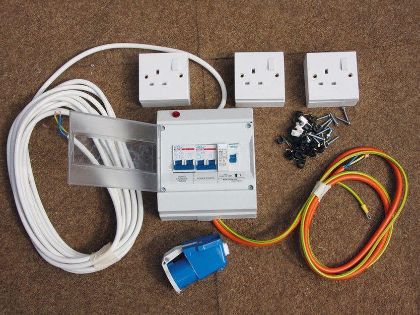practical caravan s caravan restoration advice wiring caravan rh pinterest com caravan electrical wiring diagram 2003 dodge caravan electrical wiring diagram