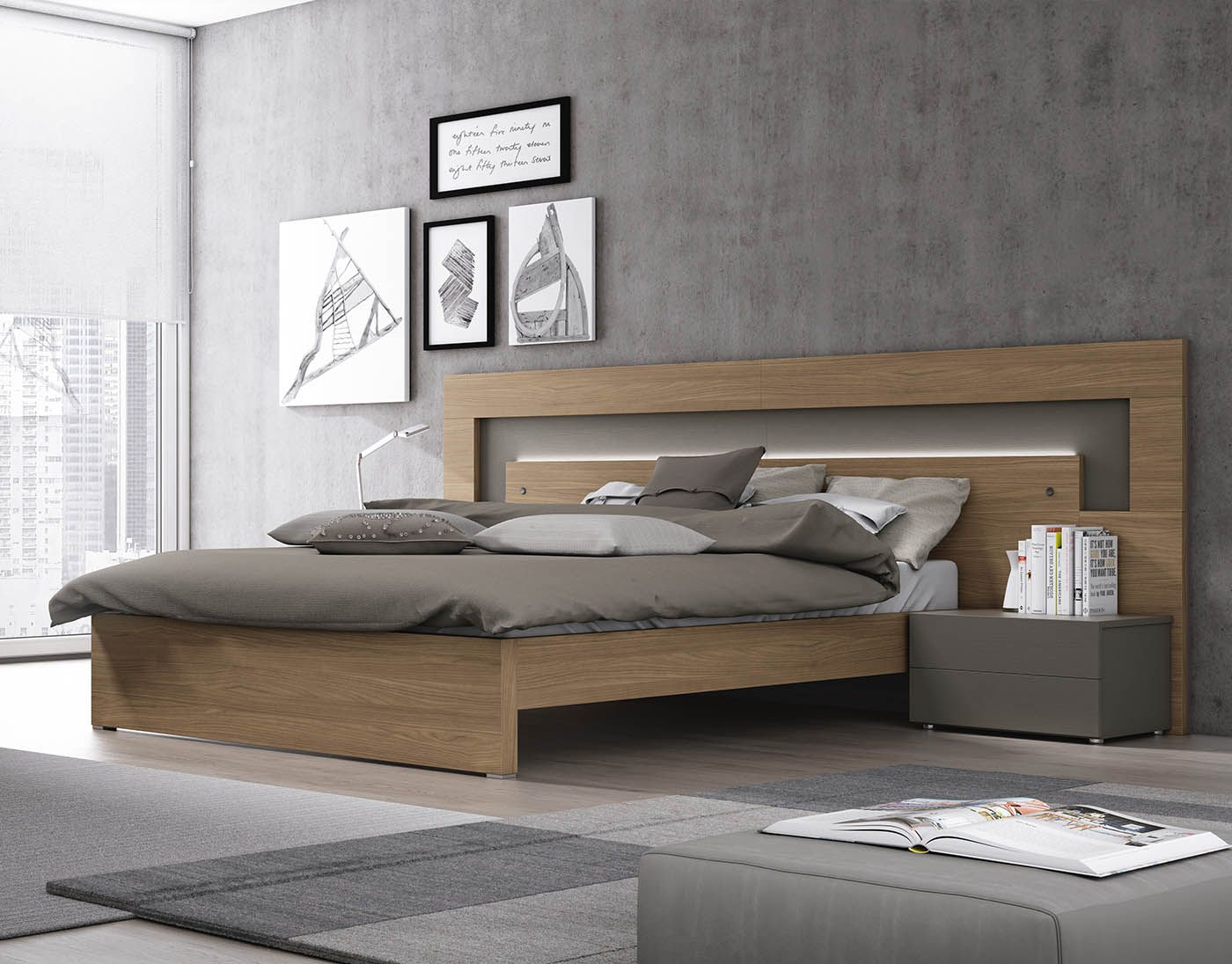 El dormitorio Volcán te ofrece la frescura en el diseño de tu ...