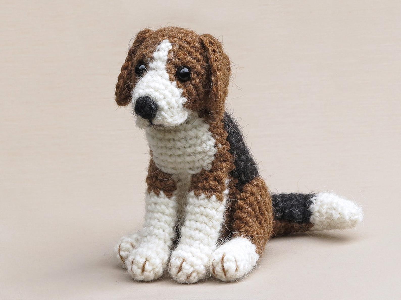 Hambea Realistic Crochet Beagle Dog Amigurumi Pattern Etsy In 2021 Stuffed Animal Patterns Crochet Dog Beagle Dog [ 1191 x 1588 Pixel ]