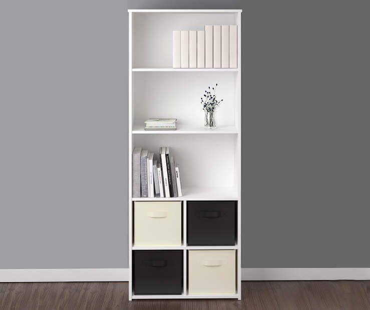 Ameriwood System Build 5 Shelf White Cube Organizer Big Lots