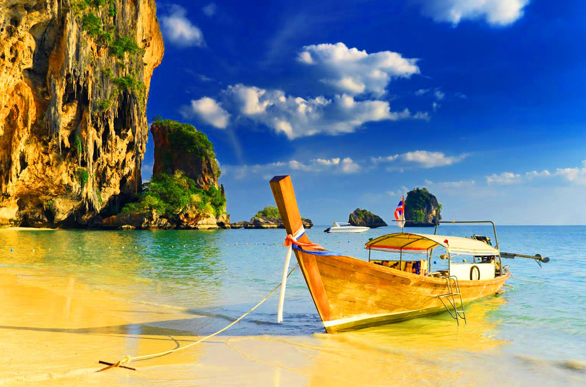 Fondo Pantalla Playa Krabi