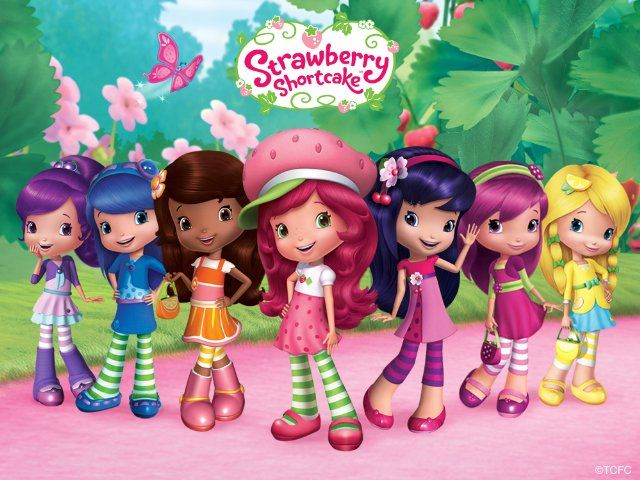 Strawberry Shortcake And Her Berry Best Friends In Their T