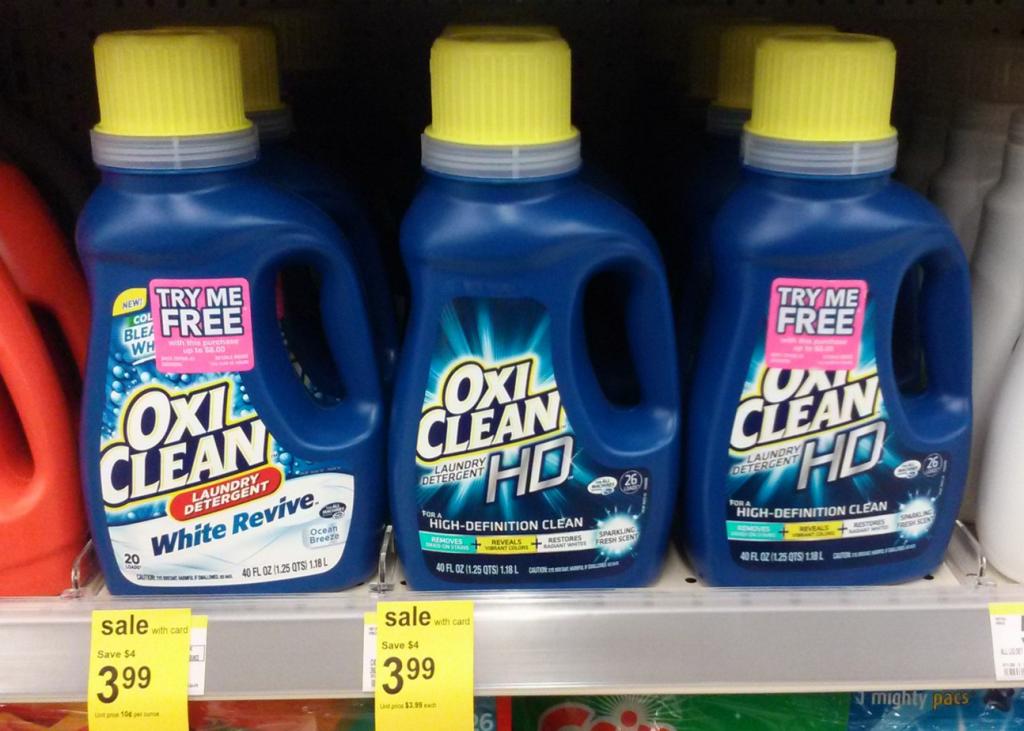 99 Cent Oxi Clean Laundry Detergent Clean Laundry Detergent