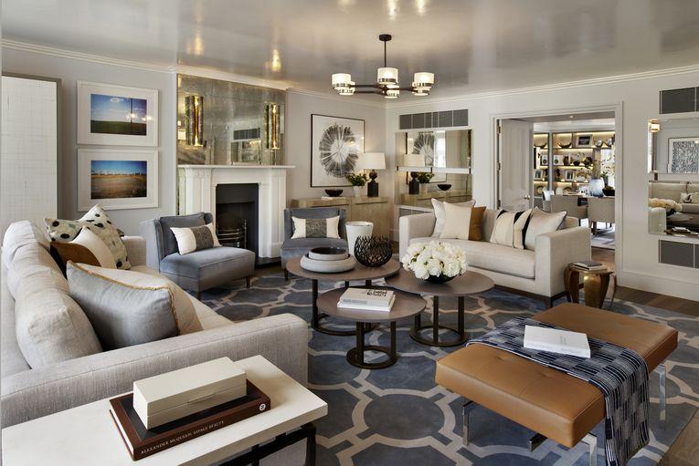 marvelous modern classic living room ideas | 30 Marvelous Transitional Living Design ideas | Living ...