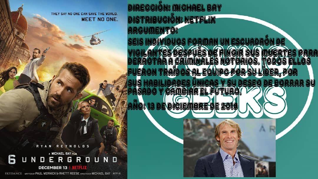 Argumento De 6 Underground Escuadron 6 6underground 6u Escuadron6 Ryanreynolds Netflix Newfilm Ne Free Netflix Account Netflix Account Netflix