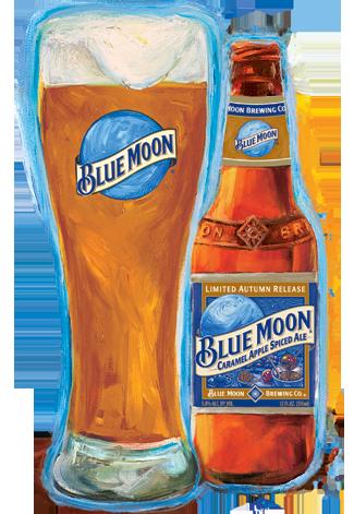 Caramel Apple Spiced Ale Blue Moon Caramel Apple Spice Ale Craft Beer