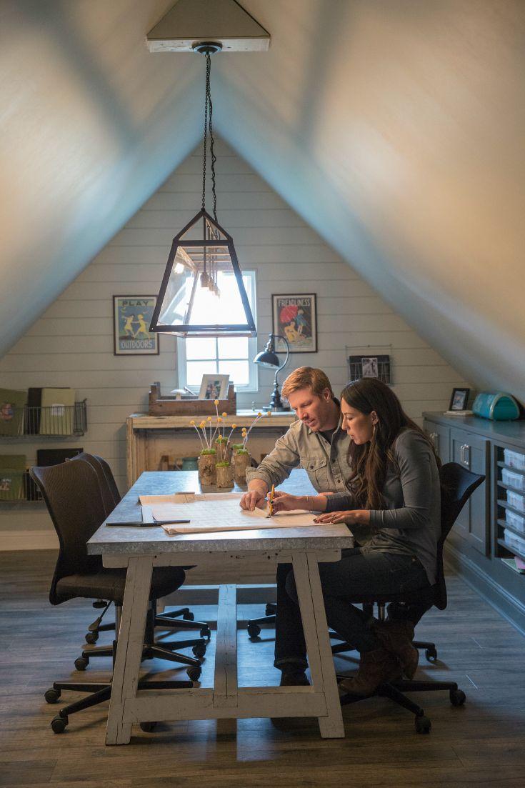Behind The Scenes Of Fixer Upper Fixer Upper Attic Renovation Home