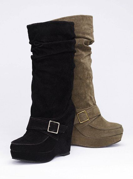 a51c3987329a Madden Girl Wedge Boot -- Victoria s Secret