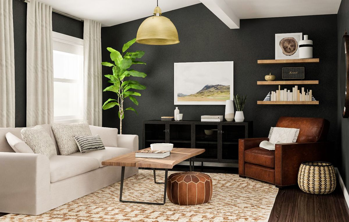 Chris Loves Julia X Modsy Collection Shop The Look Living Room Decor Apartment Rustic Living Room Living Room Decor