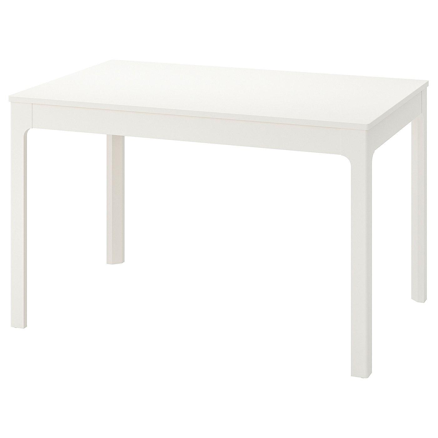 Ekedalen Extendable Table White 120 180x80 Cm Table Ikea Dining Table