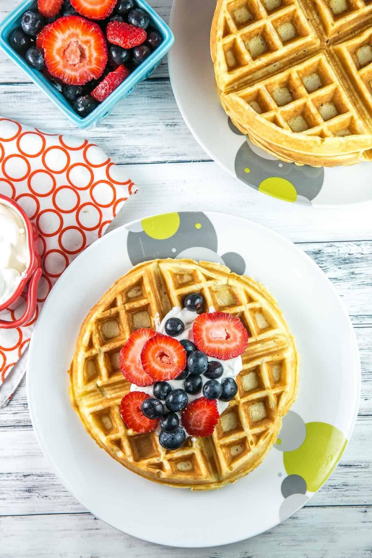 Best Belgian Waffle Recipe Recipe In 2020 Belgian Waffles Best Belgian Waffle Recipe Waffles