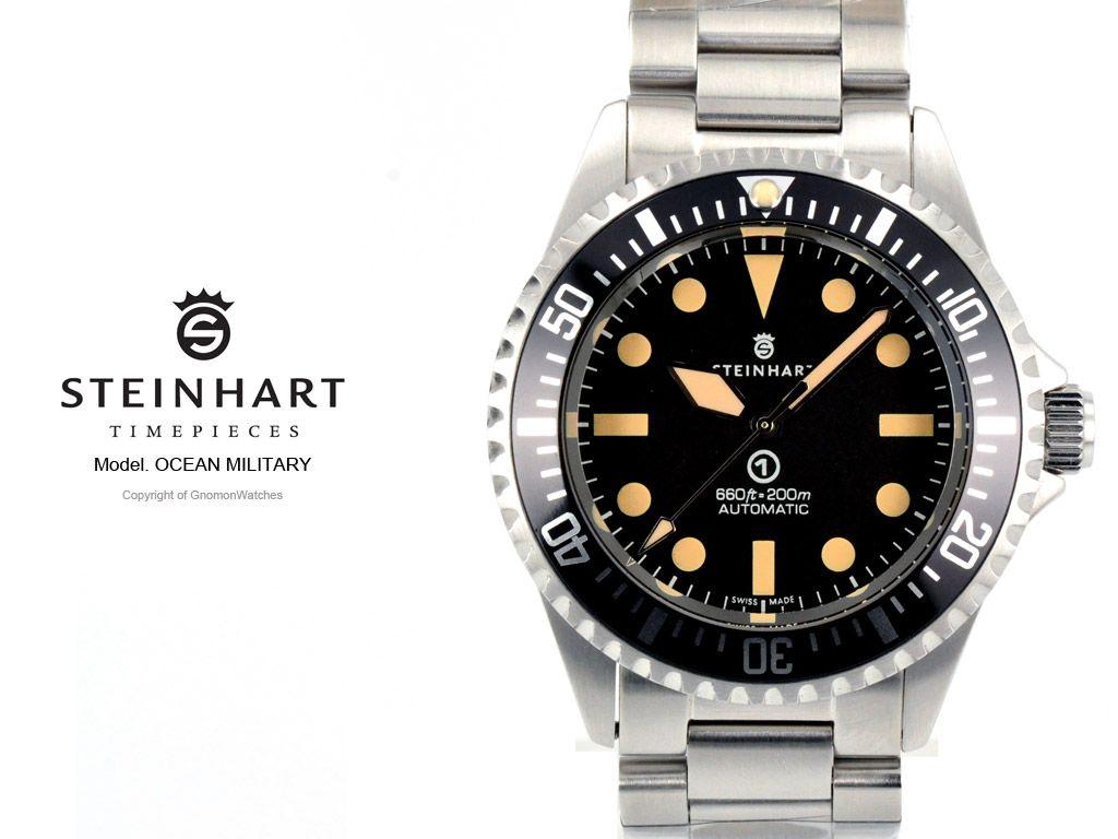 Steinhard dive watches steinhart ocean vintage military - Oceanic dive watch ...