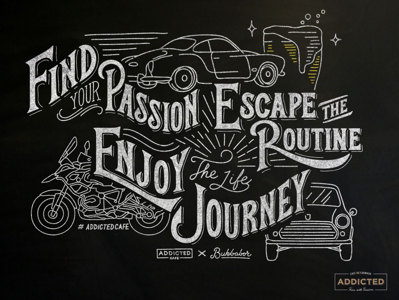 Find Your Passion Escape The Routine Enjoy The Life
