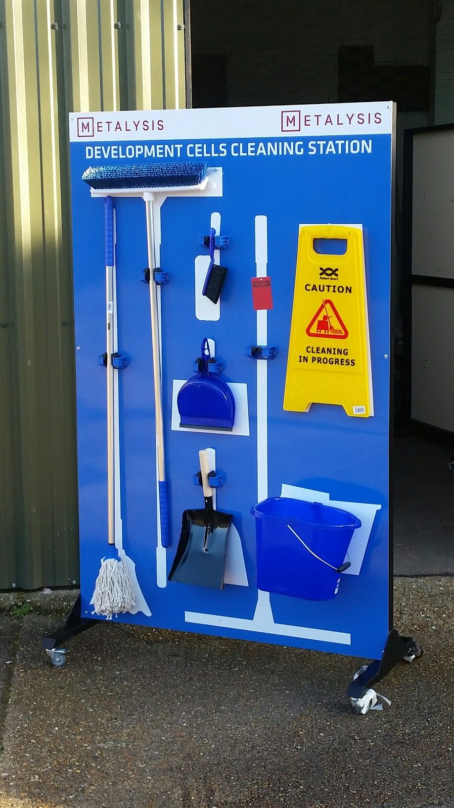 5S mobile cleaning station | 5S Visual Management Tools ...