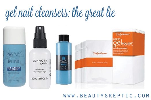 The Great Lie Gel Nail Cleanser Beauty Skeptic Gel Nails Diy Gel Cleanser Diy Cleanser