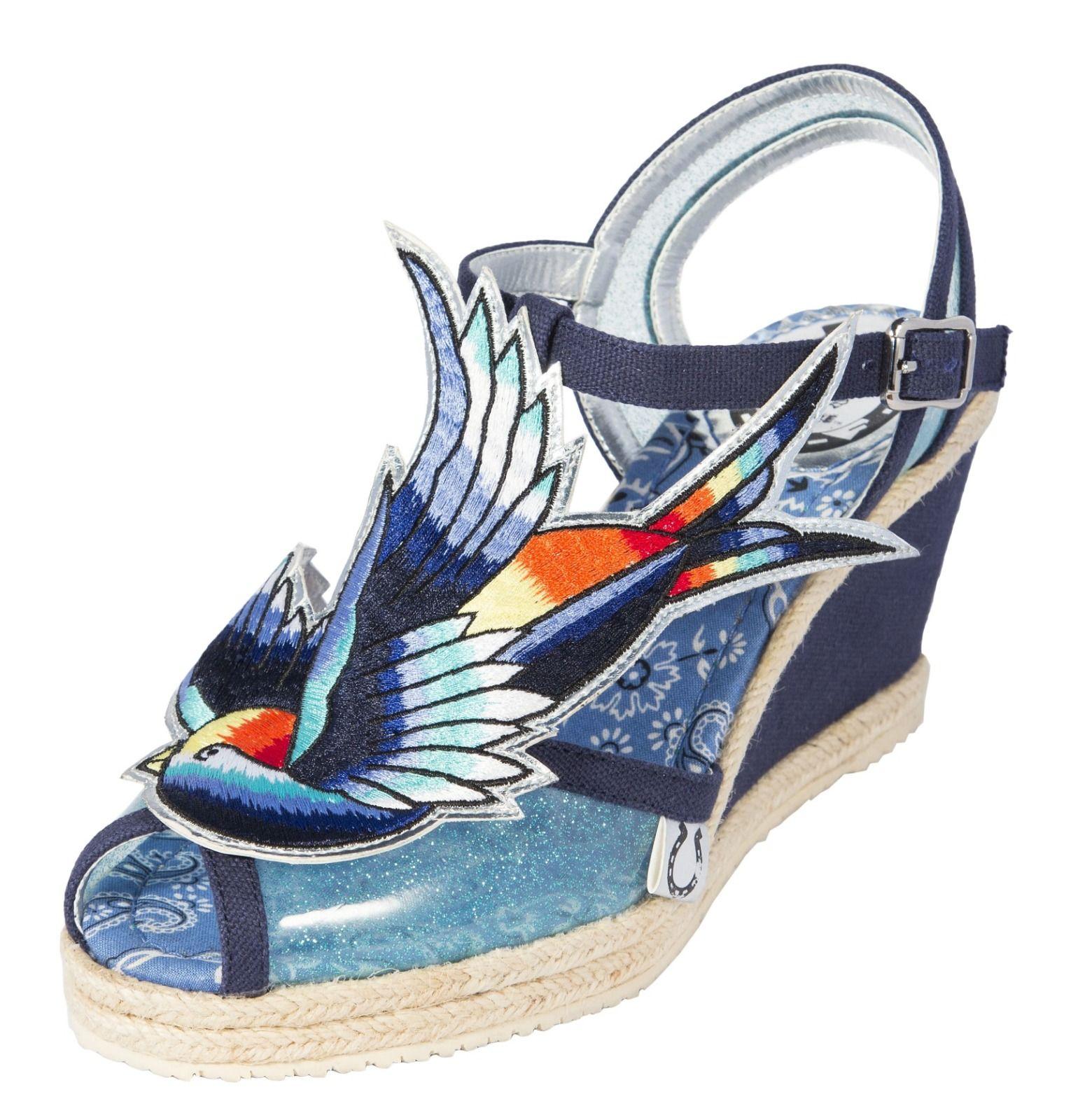 Miss L'Fire BLUEBIRD Blue Women