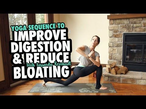 practice this yoga sequence to improve digestion and