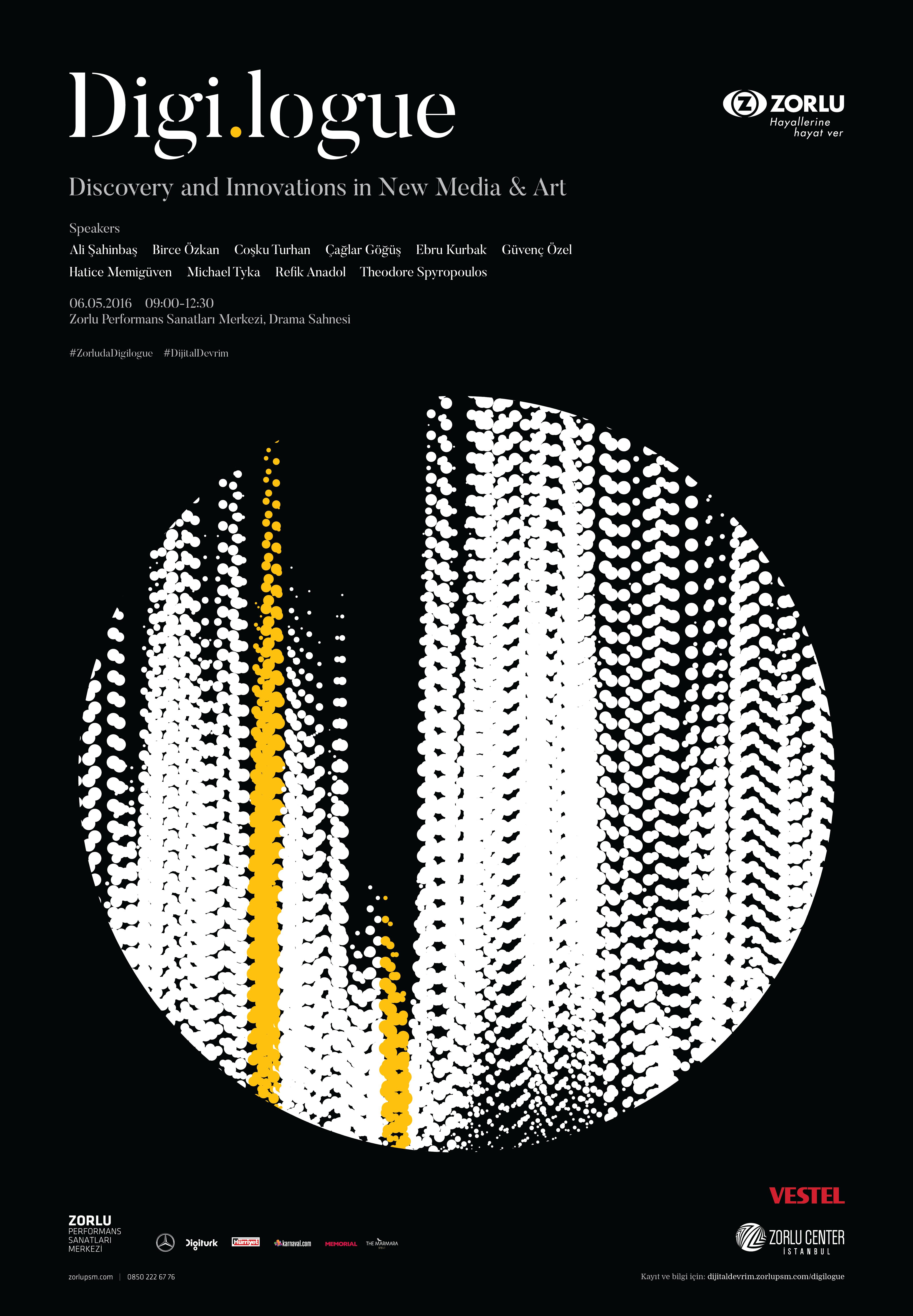 Digi.logue | Volkan Olmez - Posters | Pinterest | Plan design