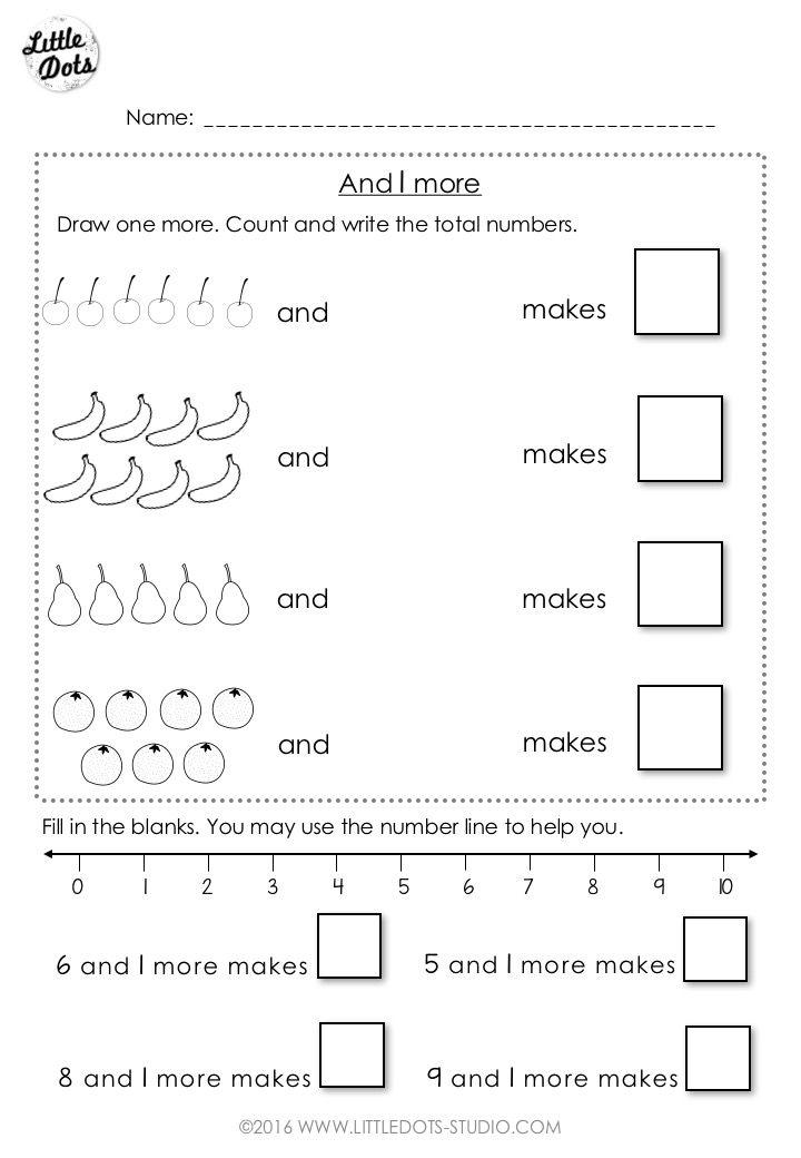 Free Addition Worksheet Suitable For Kindergarten Or Grade  Level
