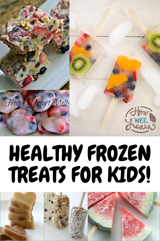 Healthier Frozen Summer Treats! - How Wee Learn