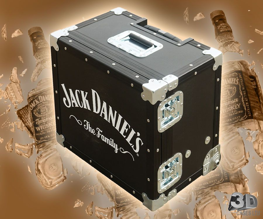 Jack Daniels Mini Kühlschrank : Flight case branding jack daniels flight case. jack daniels