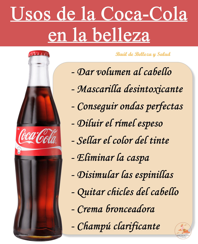 Coca Cola Para El Cabello Para Que Sirve Pin En Belleza