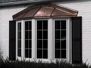 Copper Roofing Over Bay Windows Bay Window With Copper Roof Traditional Windows Richmond By Bay Window Bay Window Exterior Traditional Windows