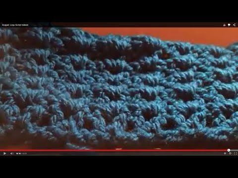 Doppel Loop Schal Häkeln Youtube Winter Schal Loop Pinterest