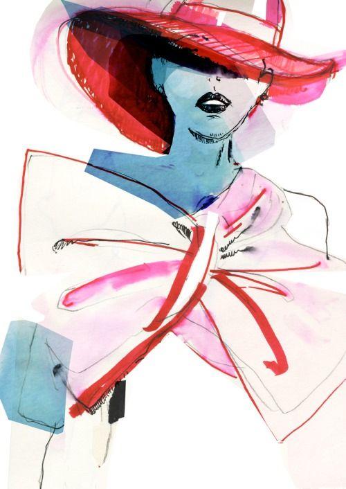 Krzyk Mody 2015 - fashion illustration